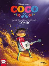 Coco. La historia de la película en Cómic